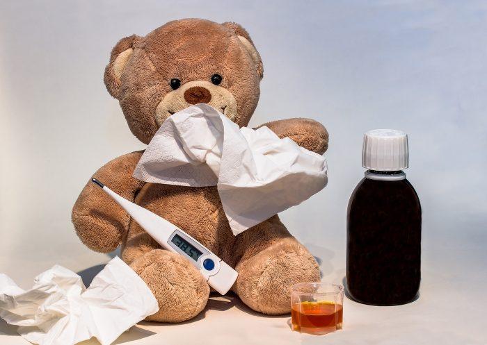Mamma ho preso il raffreddore!